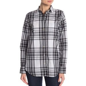 NWOT J.Crew Plaid Relaxed Shirt